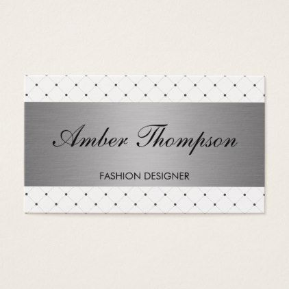 Stylish pattern with silver lux business card business cards stylish pattern with silver lux business card colourmoves