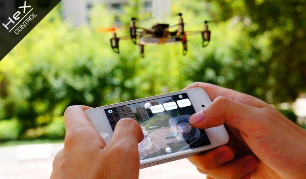 PRIMEIRO DRONE TOTALMENTE CONTROLÁVEL PELO SMARTPHONE