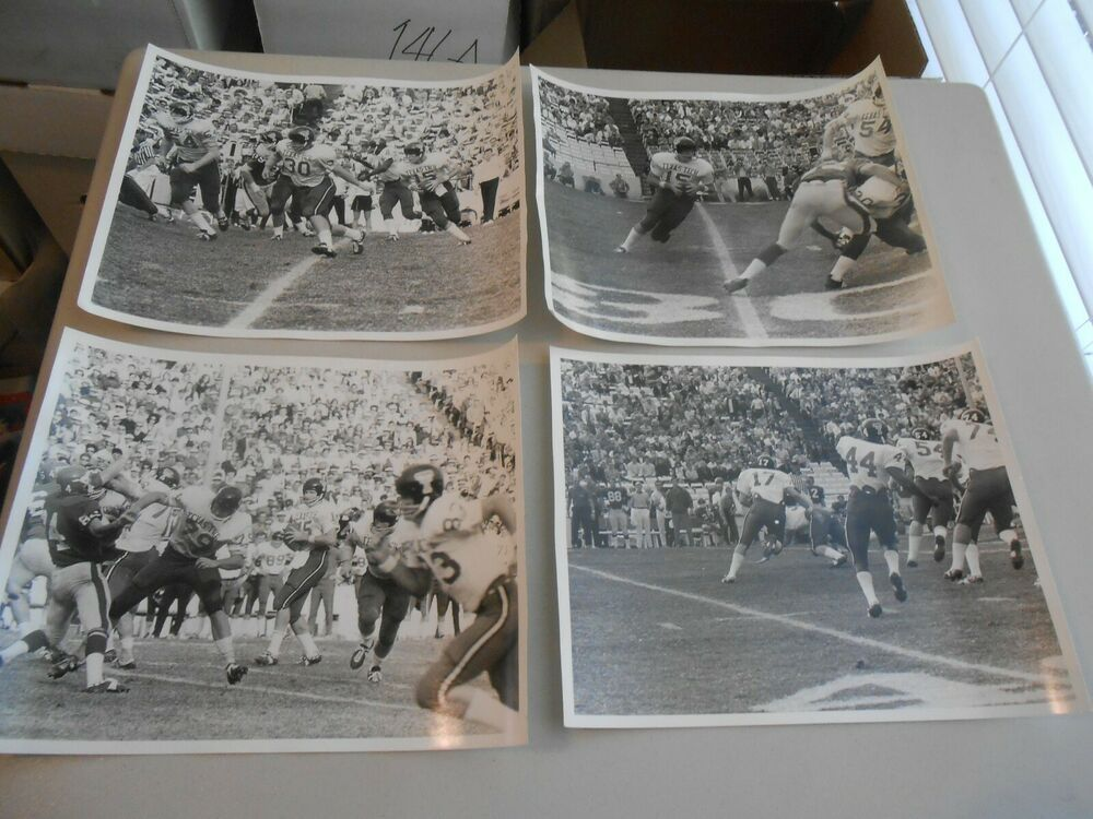 Lot of 10 Late 1960's Texas Tech Red Raider Football Press