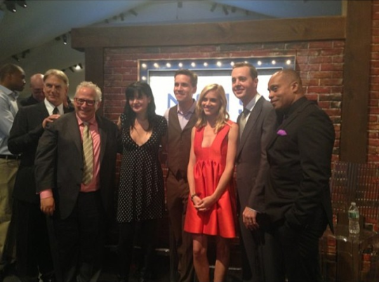 Cast with Gary at CBS Upfronts 2014