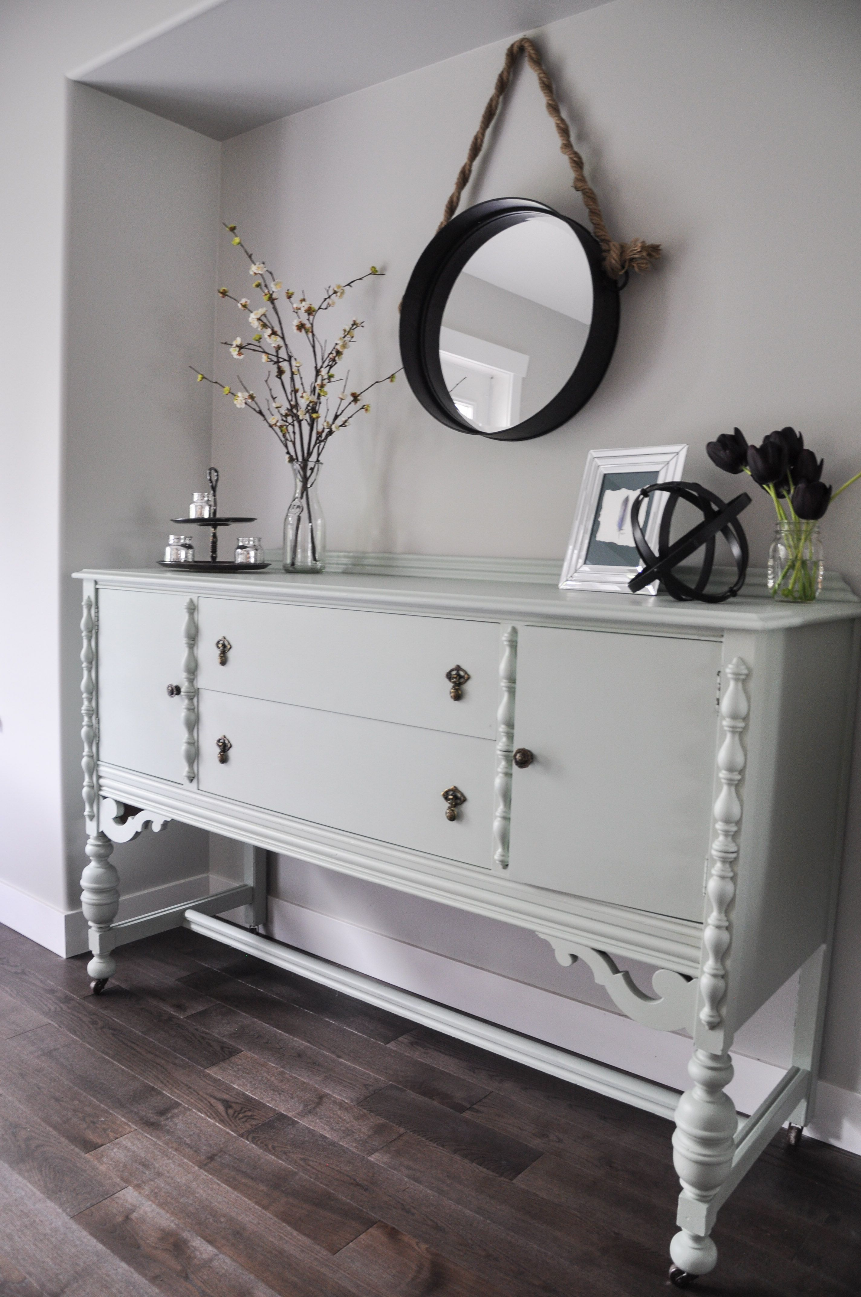 Painted Dining Room Buffet In Fusion Inglenook AND Check Out Our Current Contest To Win