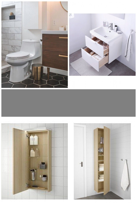 Badezimmer Ikea Godmorgon 2 Drawers 31 1 2 For Godmorgon In 2020 Ikea Godmorgon White Vanity Bathroom Ikea