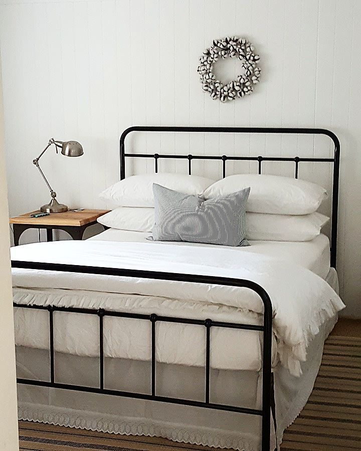 Iron Bed Frame Cute For A Guest Room Bedframes Iron Bed Frame