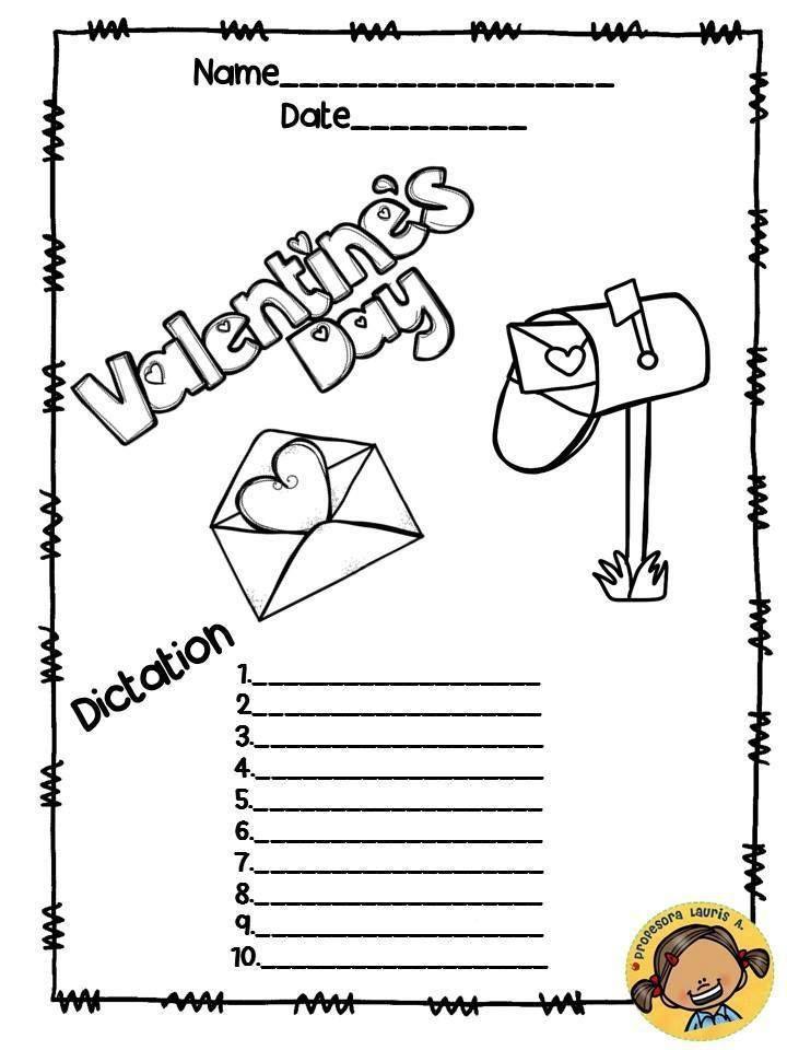 Plantillas para el dictado (42) | primer grado | Pinterest | Plantas ...