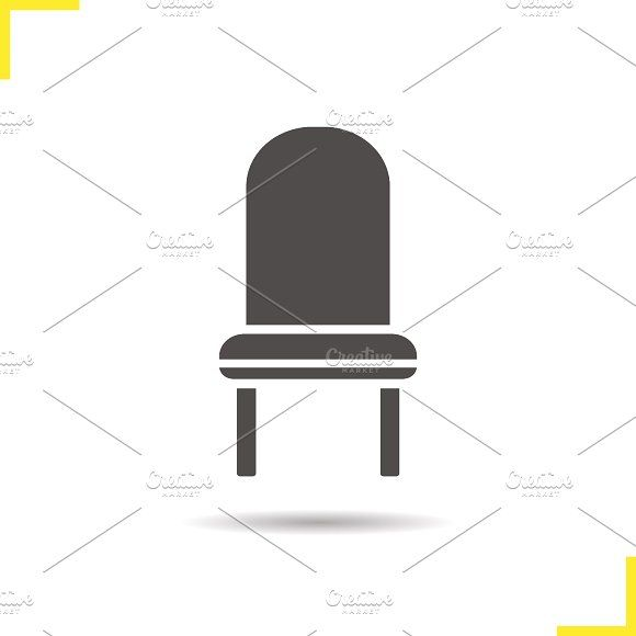 Chair Icon Vector Chair Vector Illustration Icon
