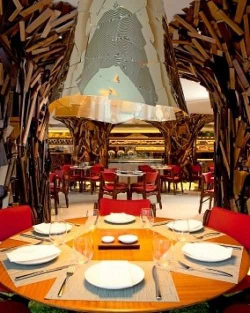 The Hotel's Dining Room was designed by the Brazilian Campana brothers. #Jetsetter