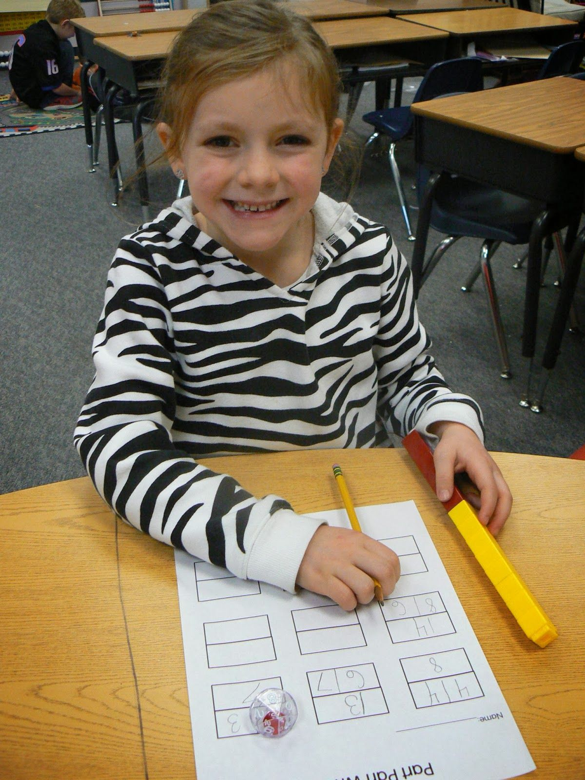 Mrs T S First Grade Class Part Part Whole Dice Game