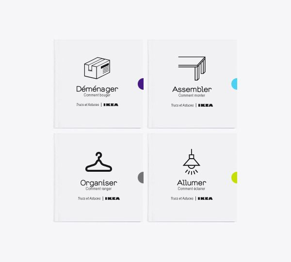 Ikea's Handbook by Gaël Baldy, via Behance (With images