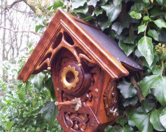 Art deco/ jugendstil bird house