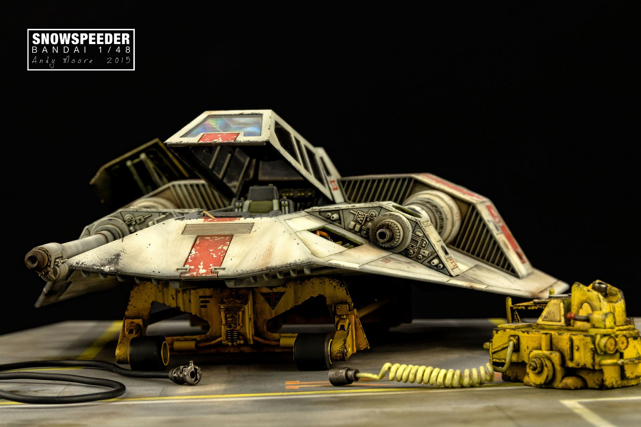 Bandai Snowspeeder | Scale Modeling | Star wars spaceships, Star