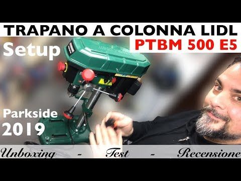 Trapano a colonna lidl parkside 2019 ptbm 500 e5 laser for Seghetto alternativo parkside lidl
