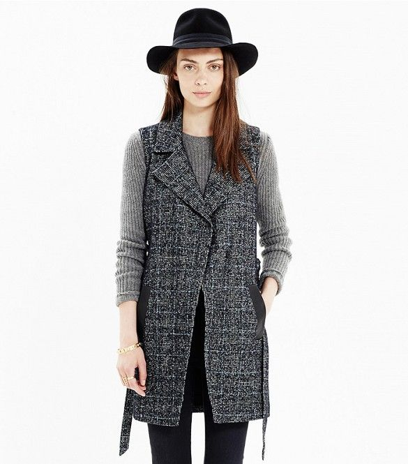11 Ways to Wear Tweed Without Looking Too Conservative via @WhoWhatWear
