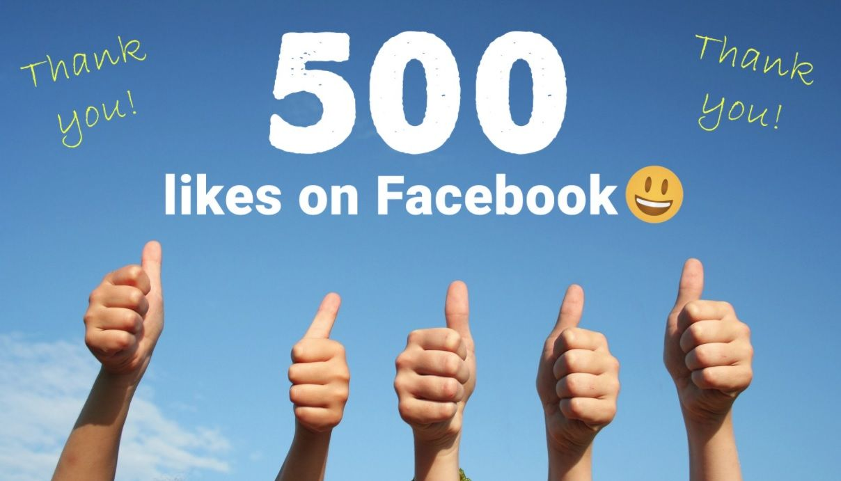 500 Likes On Facebook Thank You For Your Support We Love Our Customers In 2021 Supportive Love Today