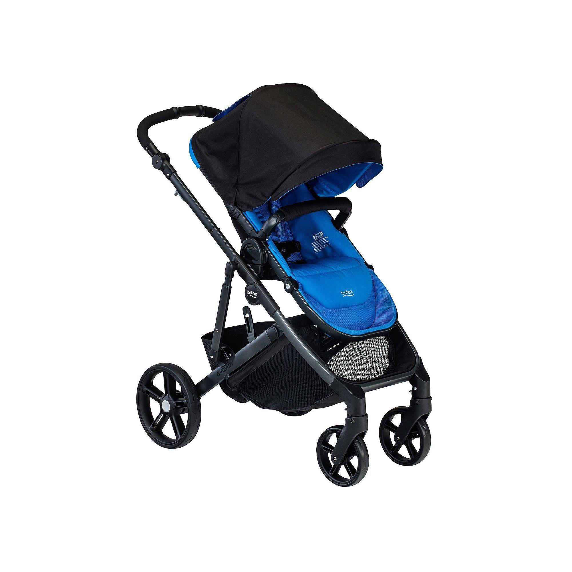 Britax 2017 BReady Stroller, Blue Britax b ready, Stroller