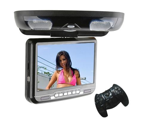 Roof Mount Car DVD Player with Digital TV ISDB-T Game - 9 Inch  $155.80