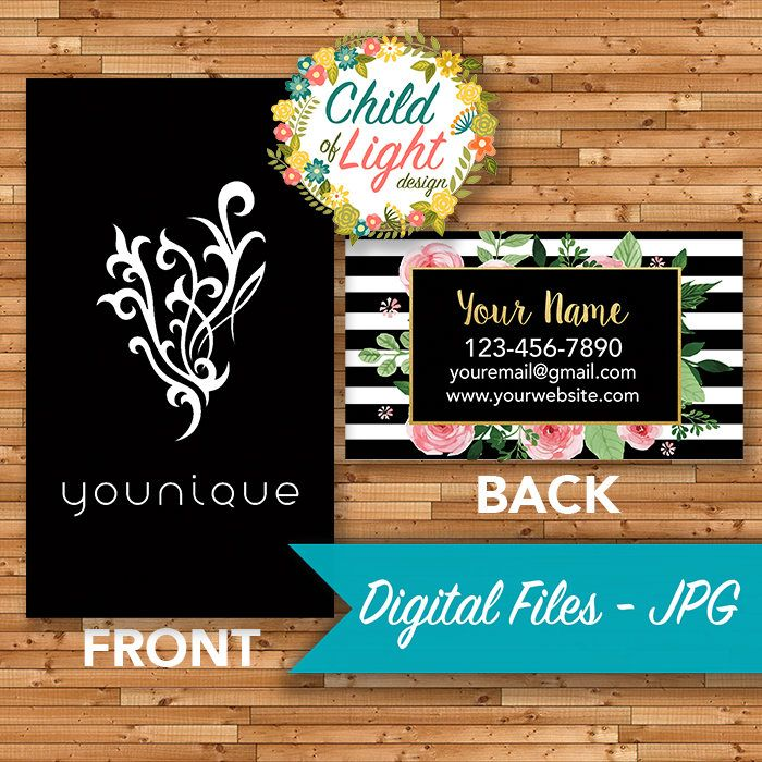 Younique Business Cards - Independent Cards - Custom Business Card ...