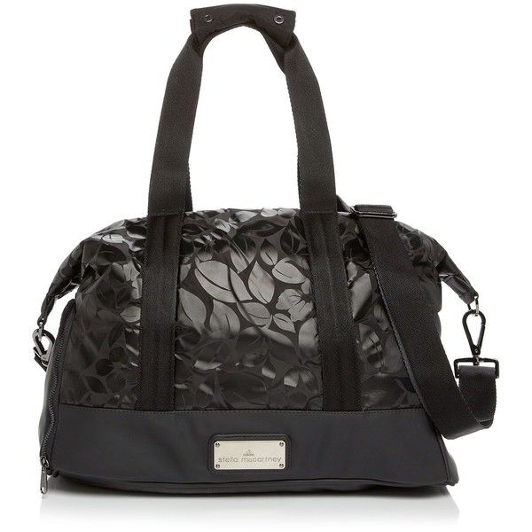 1a1ea2940e25 adidas by Stella McCartney Tote - Floral Small Gym Bag (2 200 ZAR) ❤ liked  on Polyvore featuring bags