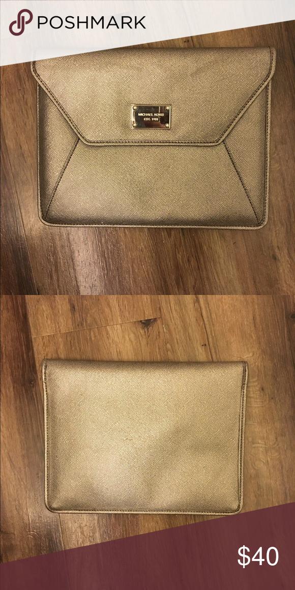 Michael Kors iPad case Can fit an iPad Air. Michael Kors Accessories Laptop Cases