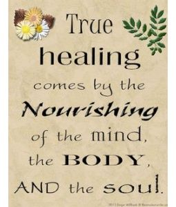 Nourish The Mind Body Soul Inspiration Prayers Quotes