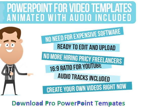 Powerpoint Video Templates 1g 574426 Fun Pinterest