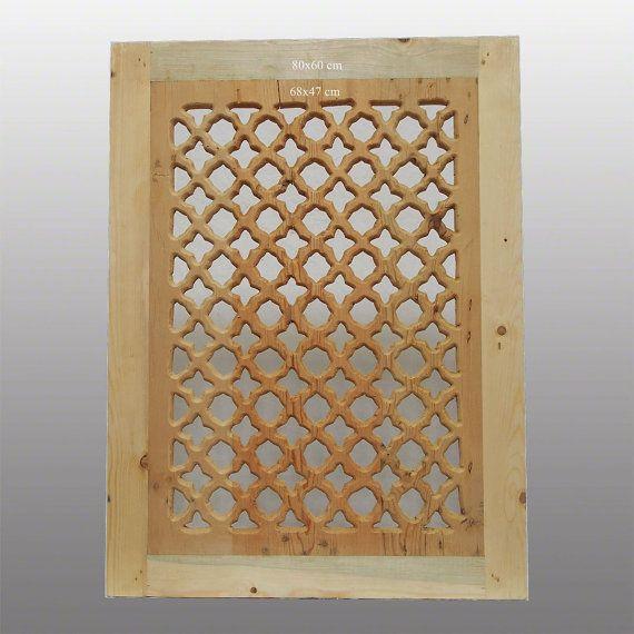 80x50 Cm Orient Holz Fenster Gitter Ziergitter Islamic Wooden Screen Mashrabiya Panel New Nr 5 Wooden Art Wooden Windows Carving