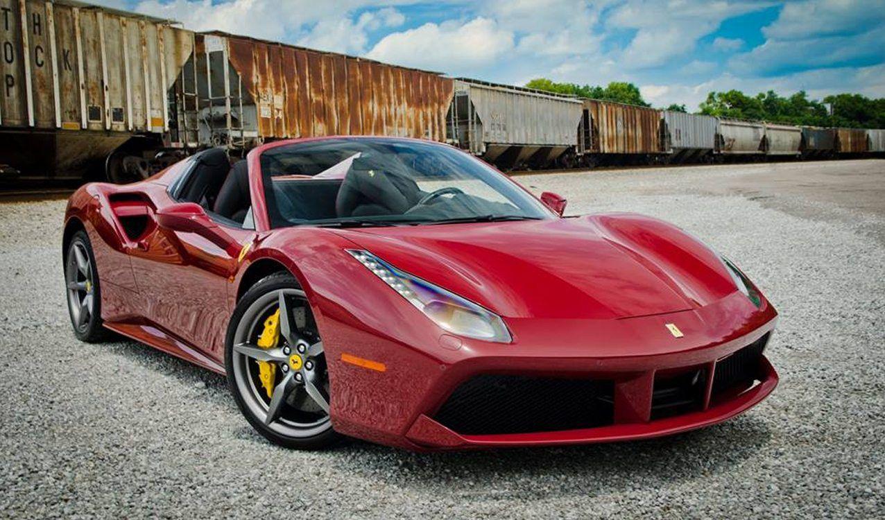 Rosso Mugello Ferrari 488 Spider For Sale Ferrari Convertible
