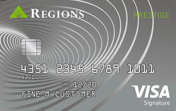 Regions Prestige Visa Credit card reviews, Rewards