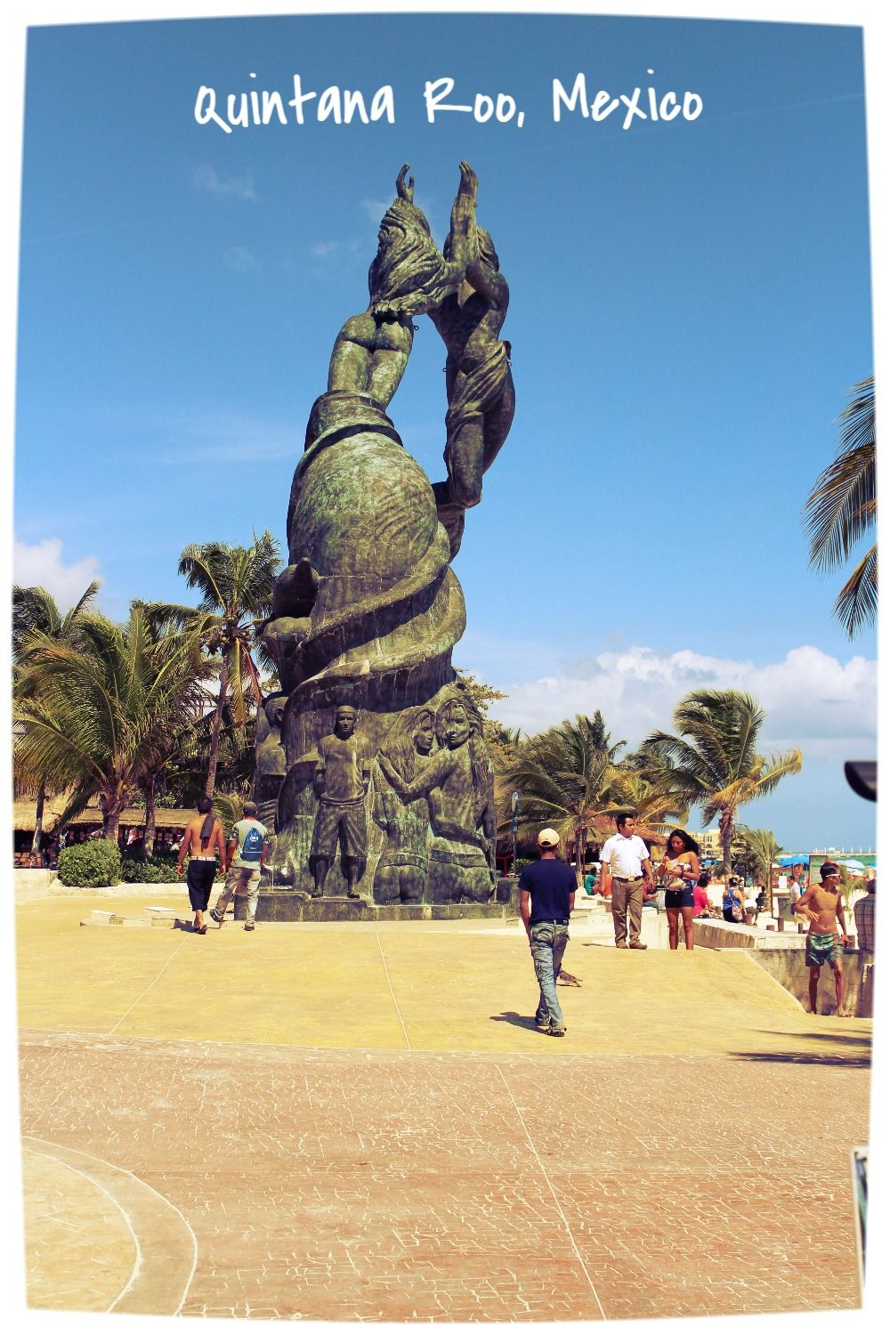 Photography, Outdoor Photography, Statue, Sculpture, Quintana Roo (Mexico), Playa del Carmen (Mexico)