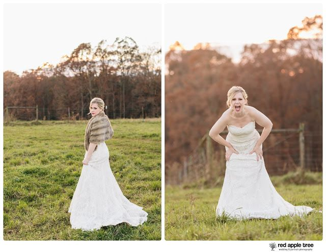 red apple tree photography: SC Greenbrier Farms Bridal with Erica