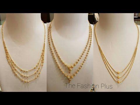 c0d9e1e821e Gold Chain Bead Mala Designs