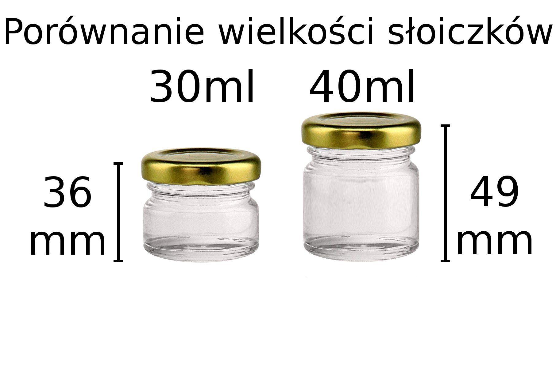 Akada Sloiczki 30ml 10szt Sloik Podziekowania B 7199445806 Oficjalne Archiwum Allegro Food Salt Condiments
