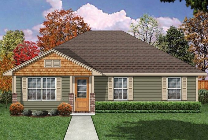 Pin On Exteriors Small House Plans