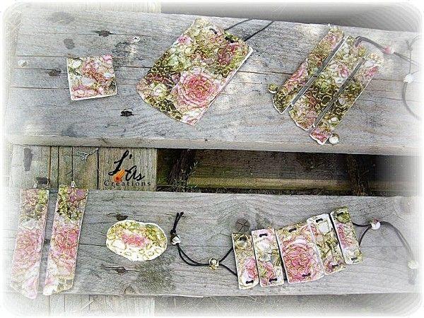 bijoux en plastiroc by L¨As Créations