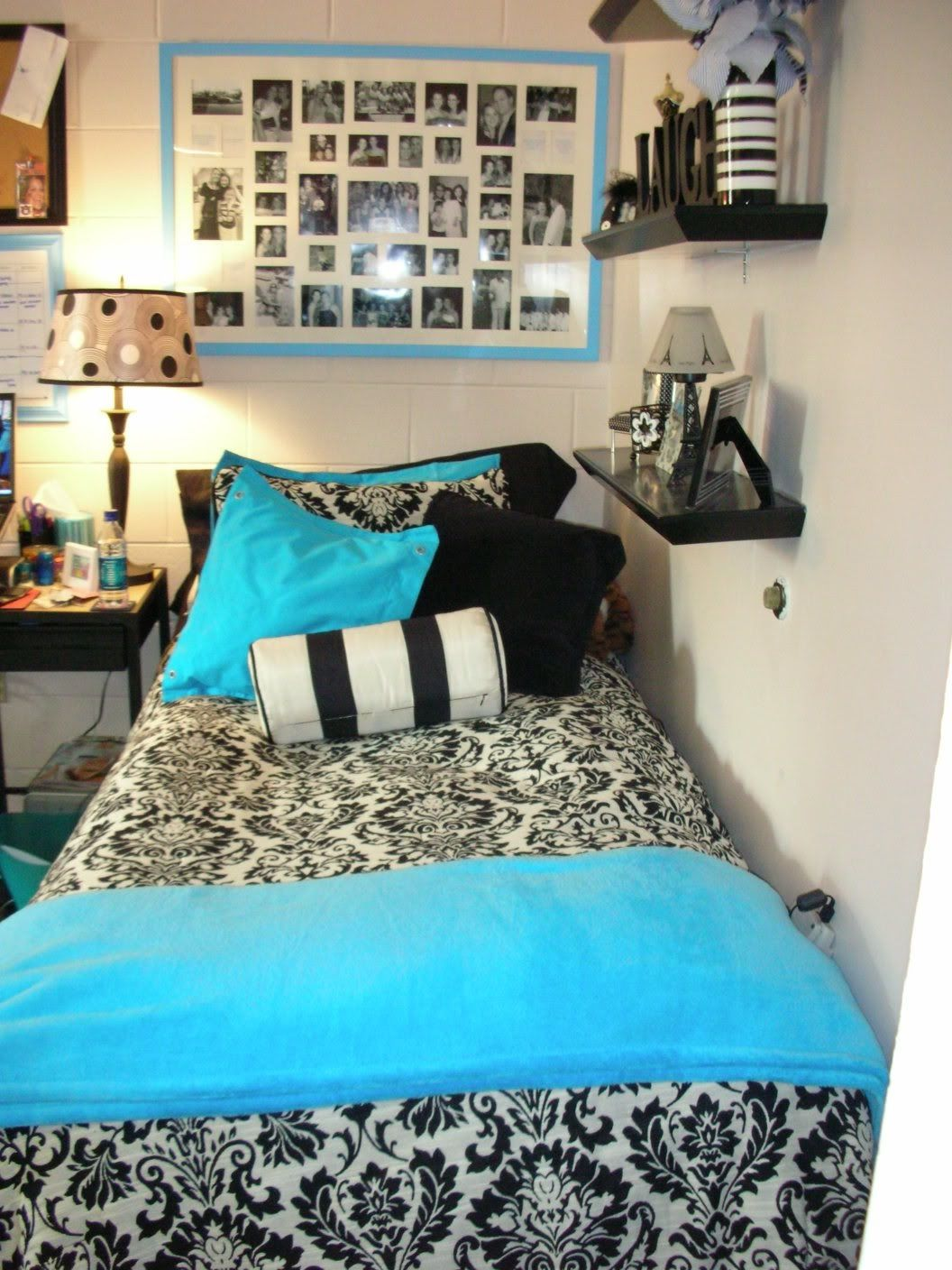 Turquoise black bedroom - Room Black And Turquoise