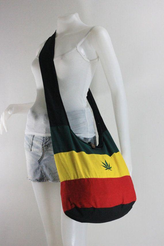 Reggae,Bob Marley, Crossbody, Shoulder bag, Hippie,Messenger ...