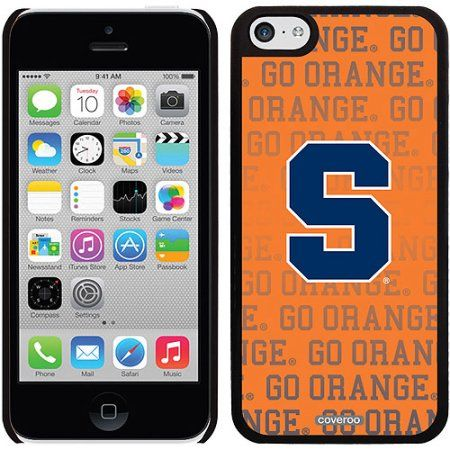 Syracuse Orange Repeat Design on iPhone 5c Thinshield Snap-On Case by Coveroo