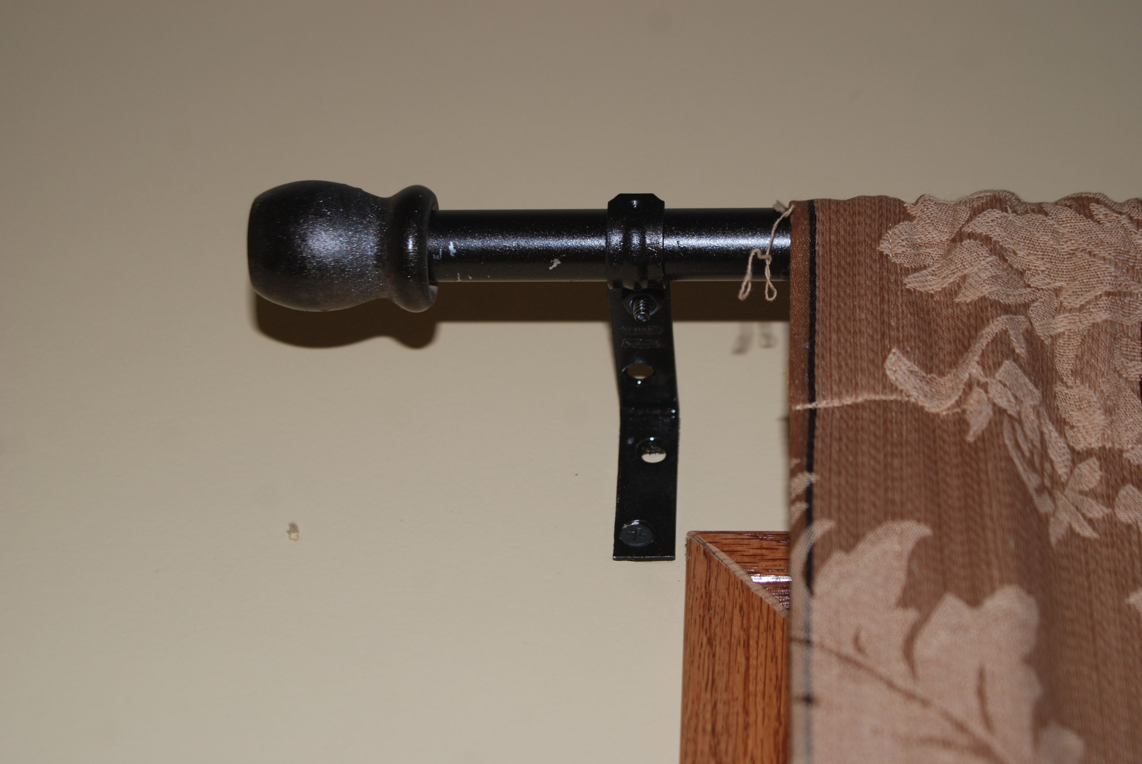 Diy Curtain Rods For The Living Room 1 2 Electrical Conduit 2