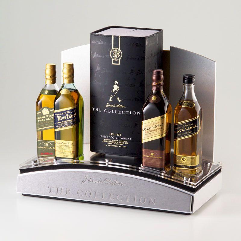 Johnnie Walker Whisky Glorifier Varios Bottle Display