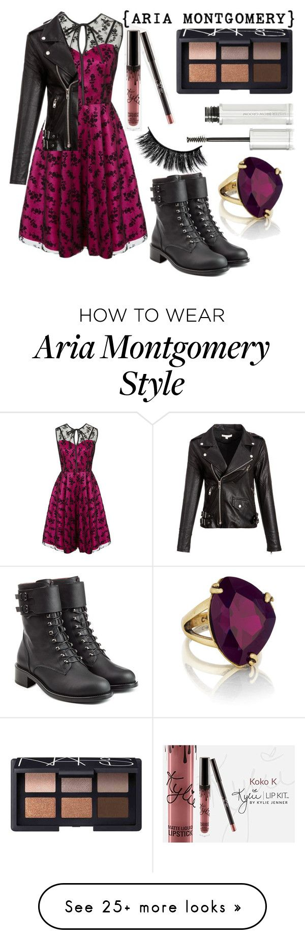 """Aria Montgomery"" by ashlyn91 on Polyvore featuring Voodoo Vixen, Philosophy di Lorenzo Serafini, Chloe + Isabel, NARS Cosmetics and Givenchy"
