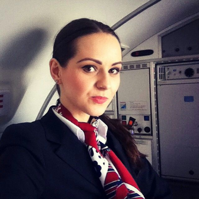LOT Polish Airlines Stewardess @malinowa_mamba