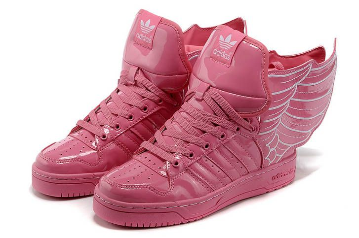 ff444e30e969 Adidas Jeremy Scott Wings Womens Pink G44395