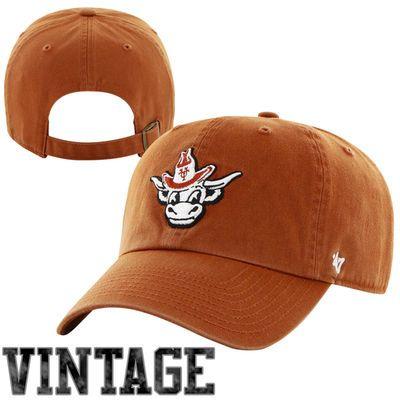 47 Brand Texas Longhorns Vault Clean Up Adjustable Hat Burnt Orange Adjustable Hat Hats 47 Brand