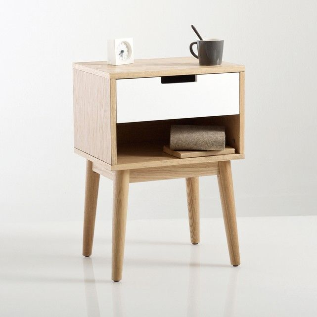 Jimi Vintage Style Bedside Table La Redoute Interieurs This Cabinet Will Bring A Stylish Look Into Your Bedroom With Its