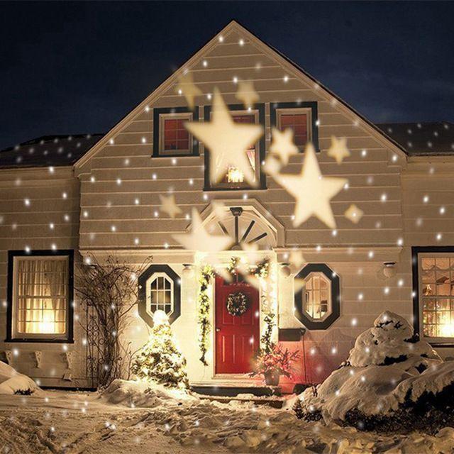 Waterproof Landscape Projector LED Light Star Outdoor Laser