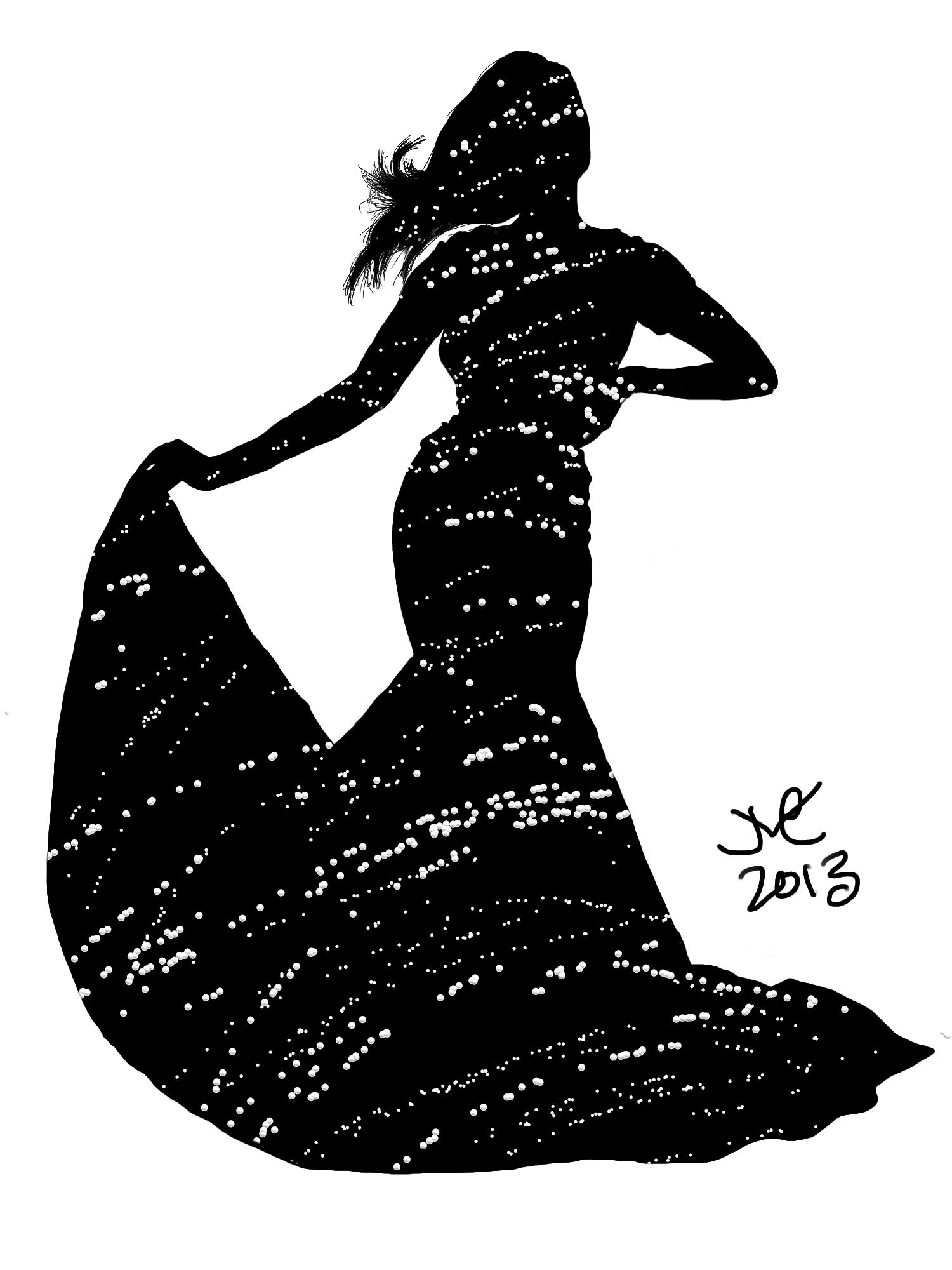 beauty queen silhouette wwwimgkidcom the image kid
