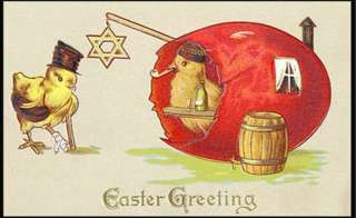 The odd world of Victorian Easter cards - BBC News