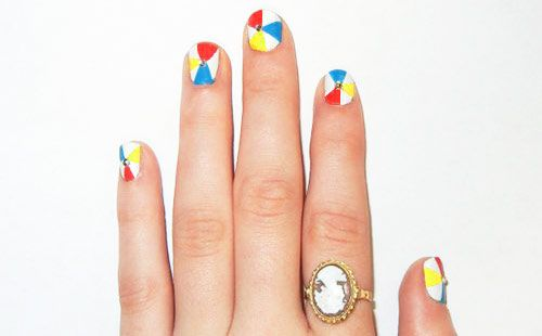 beachball nails