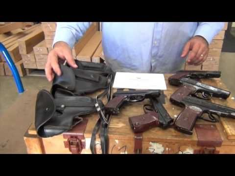 Ben introducing Classic Firearms latest shipment of amazing