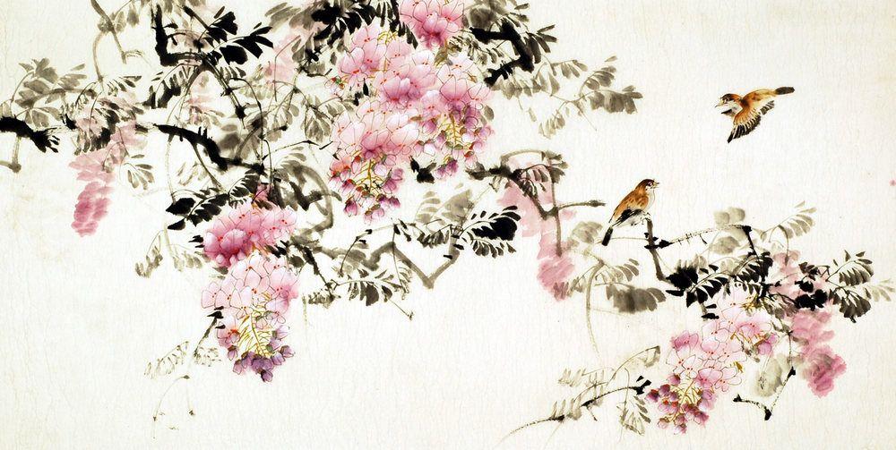 Imagenes de pinturas chinas cerca con google pittura for Rosas chinas