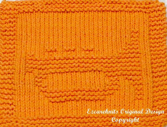 Knitting Cloth Pattern  TRUMPET  Instant Download by ezcareknits, $2.85